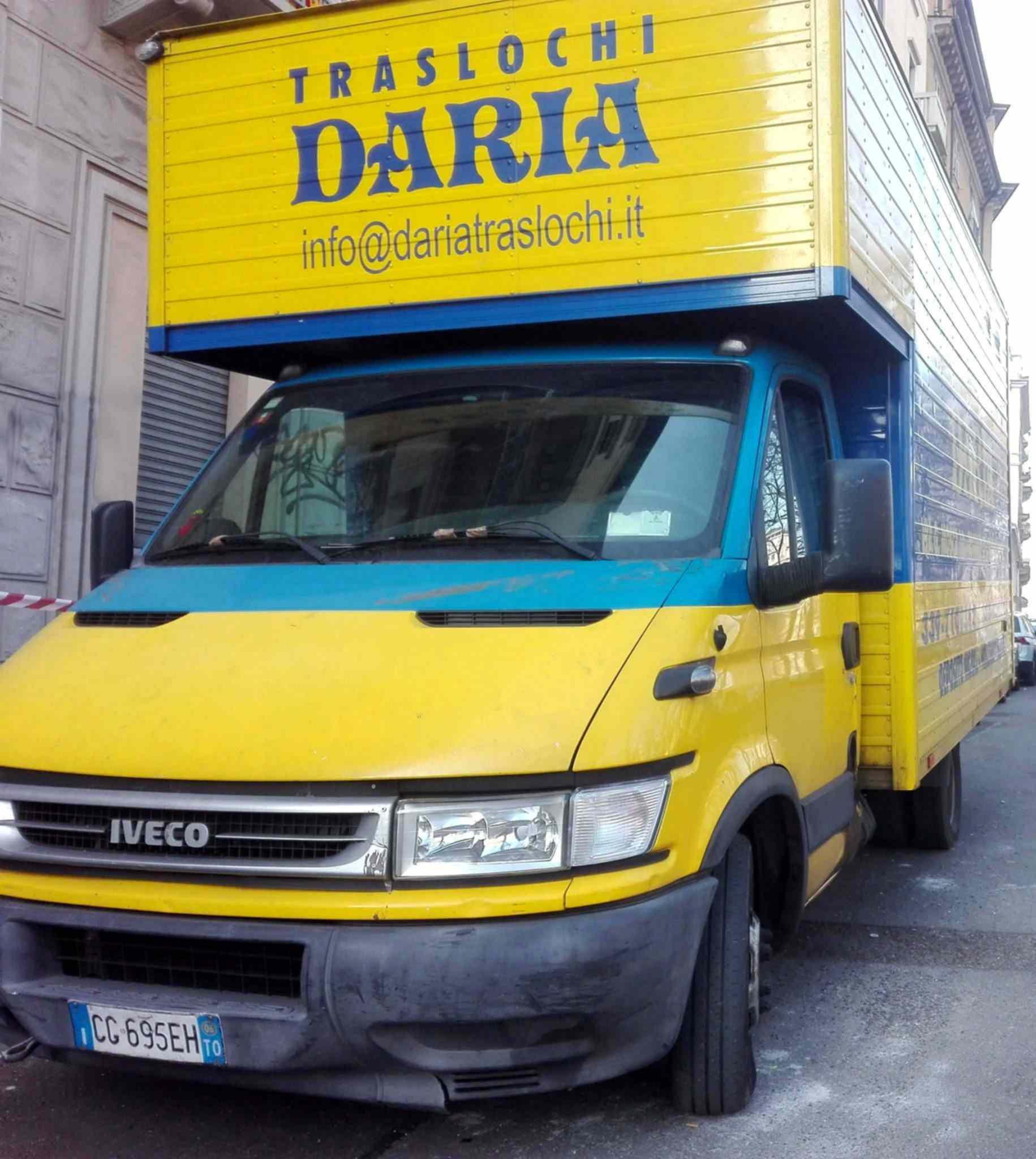 Camion Traslochi a Torino di Daria Traslochi Torino