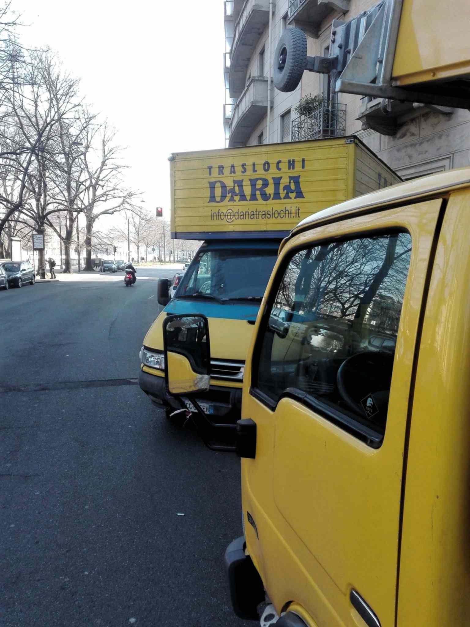 Traslochi Torino e provincia con automezzi di Daria Traslochi Torino